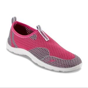 Girl's S-13/1 Pink/Gray Speedo Slip On Water Shoes